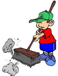 13 mei: jollenveld opruimen en schoonmaken; Wie helpt??