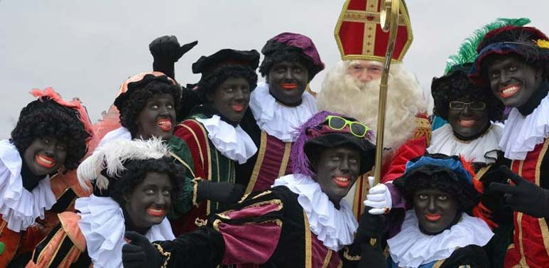Sinterklaas spektakel vanaf de vereniging