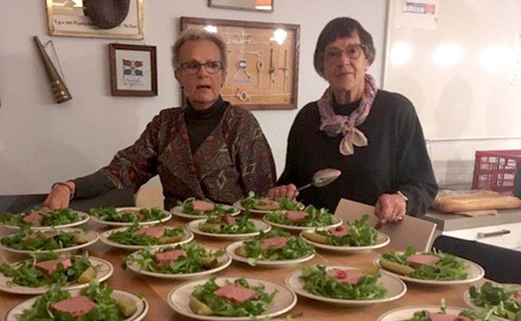 'Eten op de roei' van 9 oktober