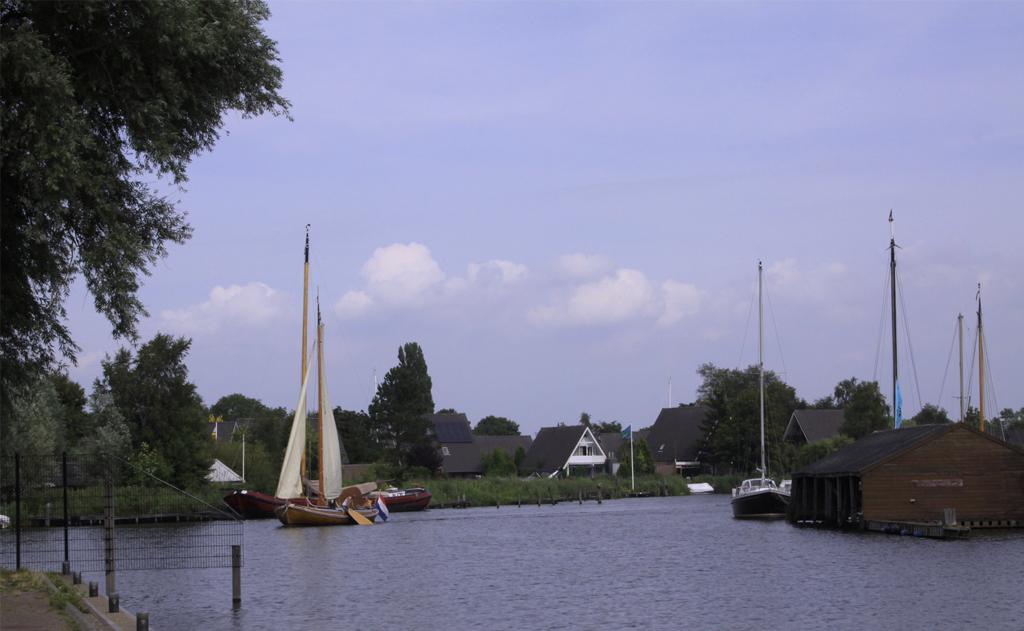 Toertocht Zeilen Friesland 14 juli 2019